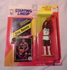 1992 Starting Lineup Figure NBA Dee Brown Boston Celtics w/Poster-Rookie!