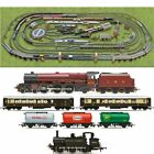 HORNBY Digital Train Set HL12 Layout Multi Track with 2 Trains  Turntable