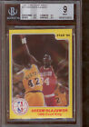 1986 Star Court Kings #25 Hakeem Olajuwon BGS 9 w 3 9.5's