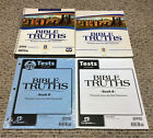 BJU Bob Jones 8th grade BIBLE TRUTHS 8 Portraits from the Old Testament Level B