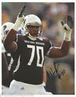 WILLIE BEAVERS Signed Autographed WESTERN MICHIGAN BRONCOS 8x10 Photo w COA