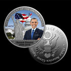 44TH PRESIDENT BARACK OBAMA COMMEMORATING IN OFFICE 2008 2016 CHALLENGE COIN