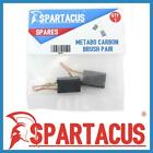 Spartacus SPB499 Carbon Brush Pair To Fit The Following Metabo Angle Grinders