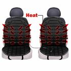 Zone Tech Thickening Gray Black Car Seat Heated Cushion Warmer Pad Hot Cover Van