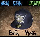 New York Yankees Big Ring Hat MLB New Era 59FIFTY Fitted NY Cap Mens Size