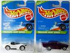 HOT WHEELS 1996 TREASURE HUNTS COMPLETE SET OF 12 CARS EXCELLENT CONDITION