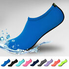Unisex Barefoot Water Skin Shoes Aqua Socks for Beach Swim Surf Yoga Exercise A
