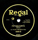 La Palina Broadcasters FRED RICH on Hot 1929 Regal 8869 Piccolo Pete