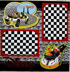 TEST TRACK DISNEY One 12X12 Premade Scrapbook Page