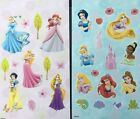 Disney Princess Stickers 2 Sheets Free Shipping Sale