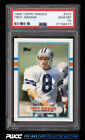 1989 Topps Traded Football Troy Aikman ROOKIE RC #70T PSA 10 GEM MINT (PWCC)