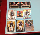 2014 Johnny Manziel Browns 7 card RC lot JSY Refractor Parallel # 25
