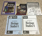 BJU Bob Jones 4th grade HERITAGE STUDIES 4 Student Teachers COMPLETE SET