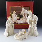 Lenox China Nativity INNOCENCE Holy Family Mary Joseph Baby Jesus Discontinued
