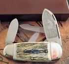 Bulldog Brand AAA+ Genuine Stag Sunfish Knife Germany 1 of 50 SOLD OUT MIB NR