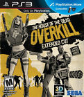 House of the Dead OVERKILL Extended Cut PS3 New Playstation 3