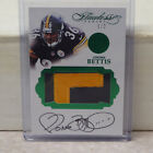 2016 Flawless Panini Jerome Bettis Pittsburgh Steelers 2 Color Patch Auto #1 2