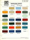 1971 FORD TRUCK AND VAN BRONCO PAINT CHIPS R M AND PPG