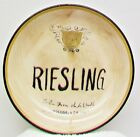 CERTIFIED INTERNATIONAL Dipping Cheese Plate 5 1/8 Riesling Kate McRostie Design