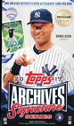 2 BOX LOT 2017 TOPPS ARCHIVES POST SEASON EDITION SEALED HOBBY BASEBALL