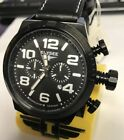 New Elysee Military Chronograph Black Dial Watch