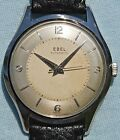 VERY RARE EBEL period 50's automatic steel completely original