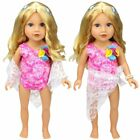 Doll Clothes Swimwear Swimsuit for 18 American Girl Our Generation My Life Doll