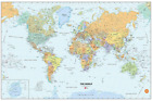 Stick World Dry-Erase Map with Marker new