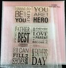 CTMH C1300 Just Like You Fathers Day Set Close To My Heart My Stamps Unused