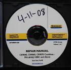 GENUINE NEW HOLLAND CR9040 CR9060 CR9070 COMBINE SERVICE REPAIR MANUAL SET ON CD
