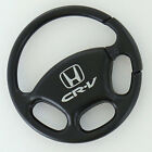 Honda CR-V Black Steering Wheel Key Ring