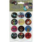 Rockin 1 Gel Stickers For Paracord Charms  Buckles 12 Pkg