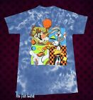 New Space Jam Tune Squad Looney Tunes Tie Dye Bugs Bunny Mens T Shirt