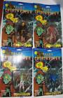 4 Tales from the Cryptkeeper Action Figures Mummy Frankenstein Zombie On Cards