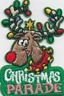 Girl Boy Cub CHRISTMAS PARADE Reindeer Lights Patches Crests Badges SCOUT GUIDE
