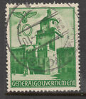 GERMAN OCCUPATION OF POLAND 1940 10g Cracow VFU