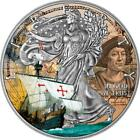 USA 2017 1 American Eagle 1 Oz Liberty Columbus Day Silver Proof Coin