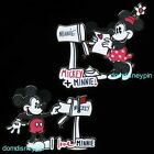 Disney Pin Set Classic Mickey  Minnie Mouse Mailbox Love Letters 2 Pins