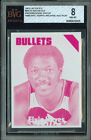 1975-76 TOPPS # 60 ELVIN HAYES RED PROOF BGS 8 SOLO FINEST UNIQUE 6698 *