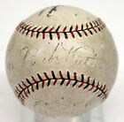 BABE RUTH SIGNED AUTOGRAPHED BASEBALL ONL BALL 1927 YANKEES GEHRIG PSA DNA 09260