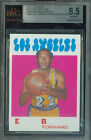 1971-72 TOPPS # 10 ELGIN BAYLOR PROOF BGS 8.5 SOLO FINEST GRADED UNIQUE .