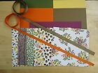 Stampin Up INTO THE WOODS 6 X 6 Designer Paper Card Kit Ribbon FALL ACORNS