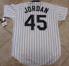 MICHAEL JORDAN CHICAGO WHITE SOX VINTAGE AUTHENTIC WILSON JERSEY-LG-WITH TAGS!!