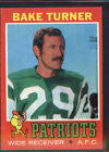 1971 Topps Football Cards 16