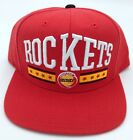NBA Houston Rockets Structured Snap Back Cap Hat Beanie Style #VL93Z NEW!
