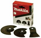 Genuine Makita B-30601 Multi Tool 3 Piece Flooring Set SEG Saw x2 + Scraper