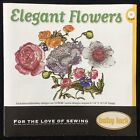 Elegant Flowers Embroidery Designs CD for Baby Lock Brother Deco