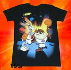New Space Jam Bugs Taz Looney Tunes Vintage Logo 1996 Mens T Shirt