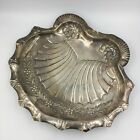 George Wish Victorian Sheffield England Shell Dish Silverplate