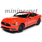 AUTOWORLD AW242 2016 FORD MUSTANG GT 50 COUPE 1 18 DIECAST MODEL CAR ORANGE